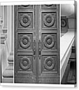 Architectural Triptych Canvas Print