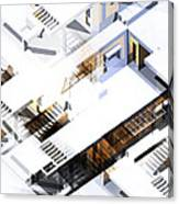 Architecture Abstract Canvas Print