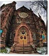 Architecture And Places In The Q.c. Series 01 Trinity Episcopal Church Canvas Print