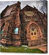 Architecture And Places In The Q.c. Series 03 Trinity Episcopal Church Canvas Print