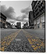 Architecture And Places In The Q.c. Series Delaware And Chippewa Canvas Print