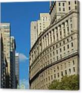 Architecture In New York City Canvas Print