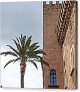 Architecture In Old Palma. Canvas Print