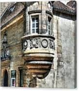 Architecture Of Dijon Canvas Print