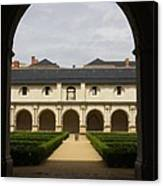 Archview To The Courtyard - France Canvas Print