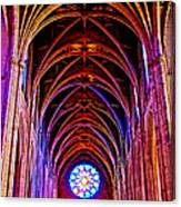 Archway In Grace Cathedral In San Francisco-california Canvas Print