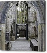 Archway Muckross Abbey Canvas Print