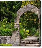 Archway To The Secret Garden Canvas Print
