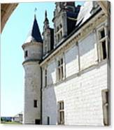 Archway View Chateau Amboise Canvas Print