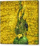 Arcimboldo Vegetable Heart Canvas Print