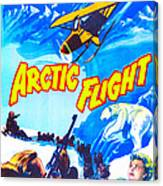 Arctic Flight, Us Poster, From Left Canvas Print