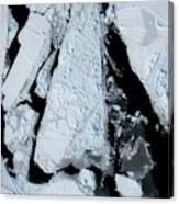 Arctic Sea Ice At Lowest Maximum Canvas Print