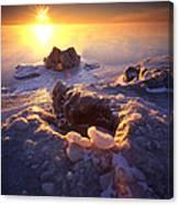 Arctic Sunrise Canvas Print