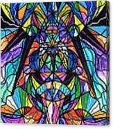 Arcturian Awakening Grid Canvas Print