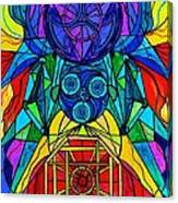 Arcturian Conjunction Grid Canvas Print