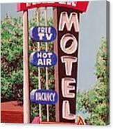 Arden Motel Canvas Print