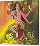 Ardhanareeswara  Canvas Print
