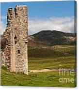Ardvreck Castle Landscape Canvas Print