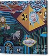Area 51.5 Time Warp Canvas Print