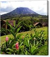 Arenal Costa Rica Canvas Print