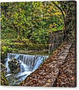 Areuse Gorge Canvas Print