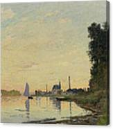 Argenteuil Late Afternoon Canvas Print