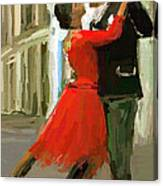 Argentina Tango Canvas Print