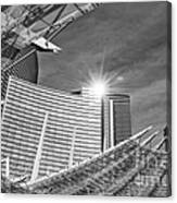 Aria Sun - Aria Resort And Casino At Citycenter In Las Vegas Canvas Print