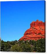 Arizona Bell Rock Hdr Canvas Print