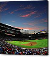 Arizona Diamondbacks V Atlanta Braves Canvas Print