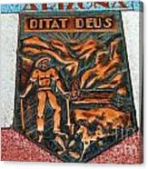 Arizona Ditat Deus Canvas Print