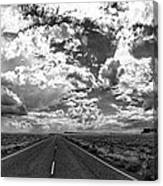 Arizona Highway Canvas Print