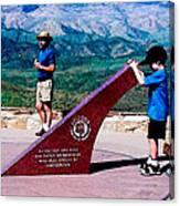 Arizona Highway Patrol Memorial Canvas Print