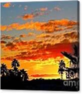 Beautiful Arizona Sunset Canvas Print