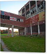 Ark At The Packard Plant Canvas Print