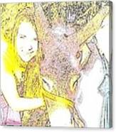 Arkadasim Essek Canvas Print