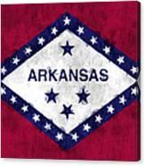 Arkansas Flag Canvas Print