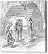 Arkansas Hot Springs, 1878 Canvas Print