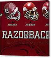 Arkansas Razorbacks Football Panorama Canvas Print