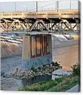 Arkansas River Walk Canvas Print