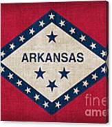 Arkansas State Flag Canvas Print