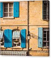 Arles Windows Canvas Print