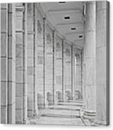 Arlington Amphiteather Arches And Columns Canvas Print