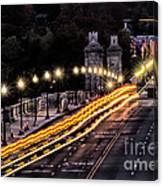 Arlington Bridge And Cemetery Canvas Print