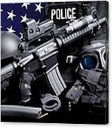 Arlington County Police Canvas Print