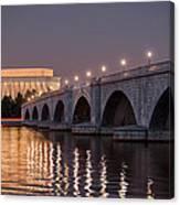 Arlington Memorial Bridge Canvas Print
