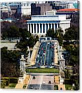 Arlington Memorial Bridge Leads Canvas Print