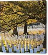 Arlington National Cemetery Washington Dc Canvas Print