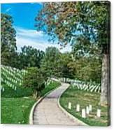 Arlington National Cemetery Part 2 Canvas Print