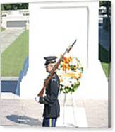 Arlington National Cemetery - Tomb Of The Unknown Soldier - 121214 Canvas Print